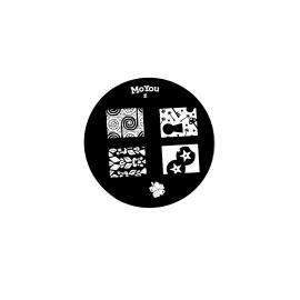 Płytka do stempli symbole 11 nr86