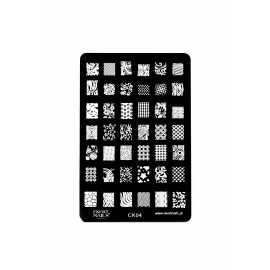 Płytka do stempli symbole 5 nrCK04