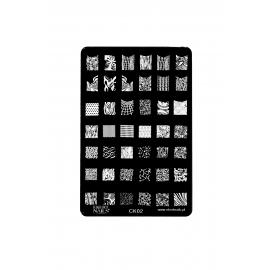Płytka do stempli wzory 4 nrCK02