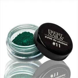 Pyłek do zdobień pigment zielony nr11 Ekert Nails
