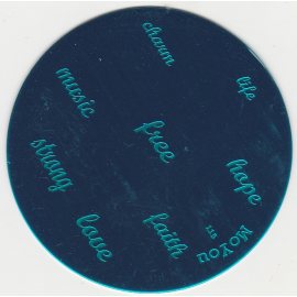 Płytka do stempli napisy nr115