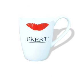 Kubek z logo Ekert & CND