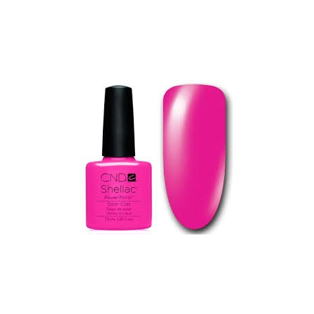 Shellac Hot Pop Pink