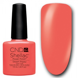 Shellac Desert Poppy 7,3 ml