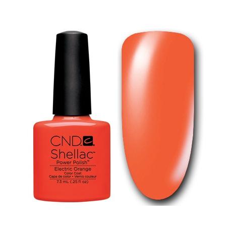 Shellac Electric Orange