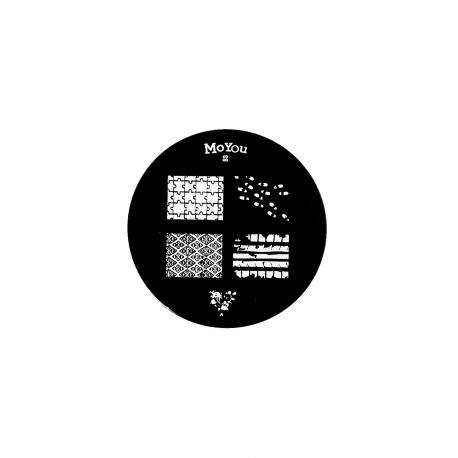 Płytka do stempli symbole 6 #83