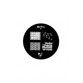 Płytka do stempli symbole 6 nr83