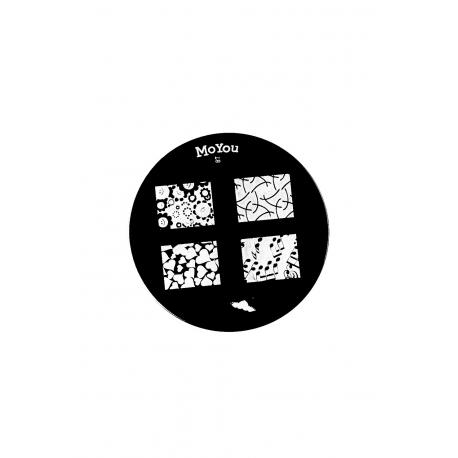 Płytka do stempli symbole 7 #87