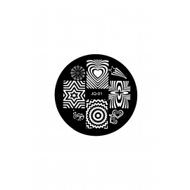 Płytka do stempli symbole 9 nrJQ-01