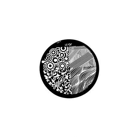 Płytka do stempli wzory 3 #JQ-31
