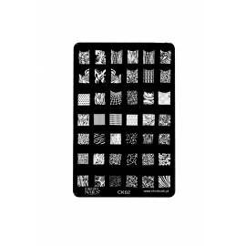 Płytka do stempli wzory 4 #CK02