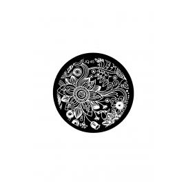 Płytka do stempli kwiaty 7 #JQ-45