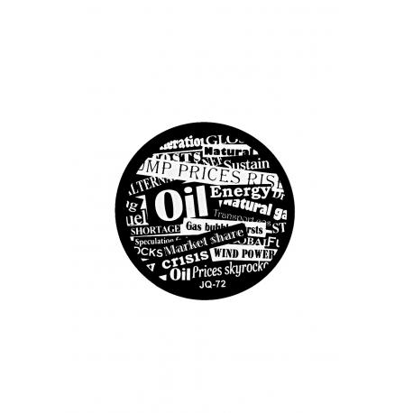 Płytka do stempli cyferki/napisy 1 #JQ-72