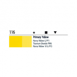 Farba akrylowa 20ml 116 yellow