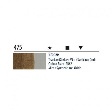 Farba akrylowa 20ml 475 bronze
