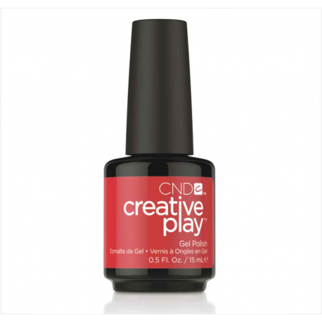 Gel Creative Play Red y to roll #412 15 ml