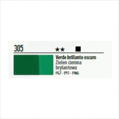 Farba akrylowa 20ml 305 green deep