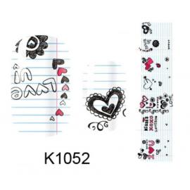 Naklejki na paznokcie K1052
