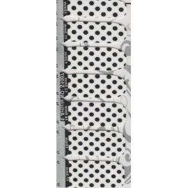Naklejki na paznokcie kropki S1007