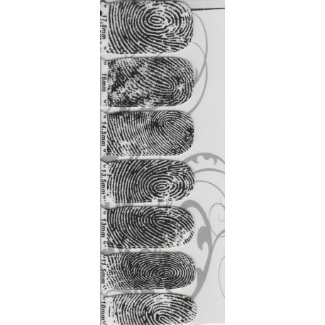 Naklejki na paznokcie QJ-1015