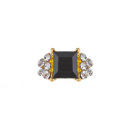 Biżuteria do paznokci czarna 06