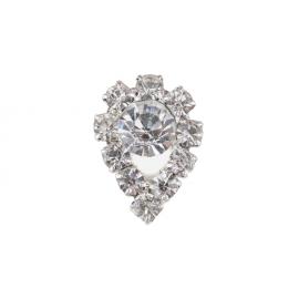 Biżuteria do paznokci srebrna 12