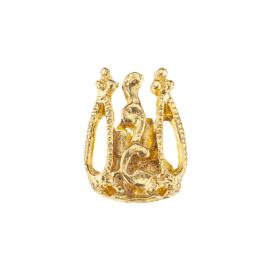 Biżuteria do paznokci złota 02