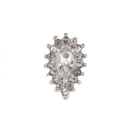 Biżuteria do paznokci srebrna 11