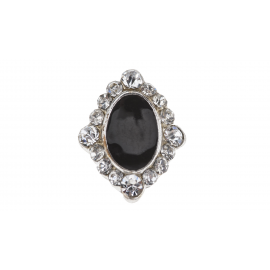 Biżuteria do paznokci srebrna 15