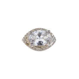 Biżuteria do paznokci srebrna 28