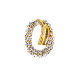 Biżuteria do paznokci złota 05
