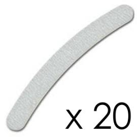 Zestaw 20x Pilnik Banana Zebra 100/180