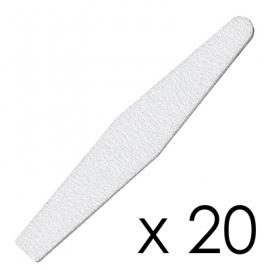 Zestaw 20x Pilnik Diamond Zebra 100/180
