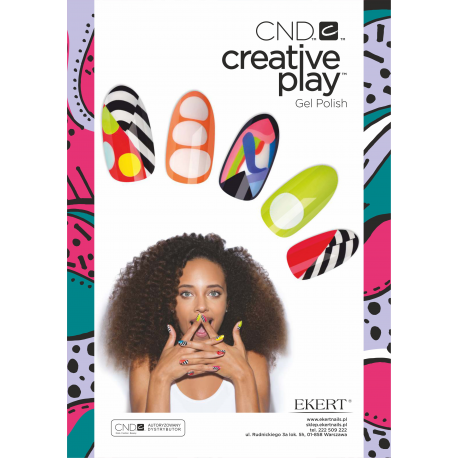 Plakat Creative Play Gel