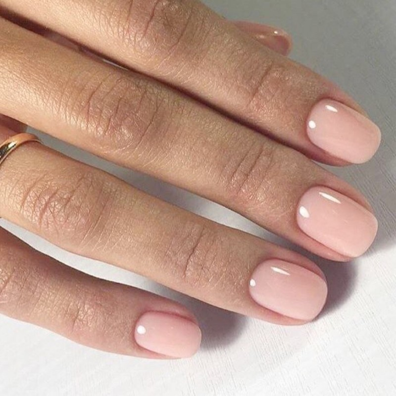 CND shellac in bare chemise   Shellac nail colors, Cnd shellac nails, Subtle nails