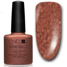 Shellac Leather Satchel 7,3ml