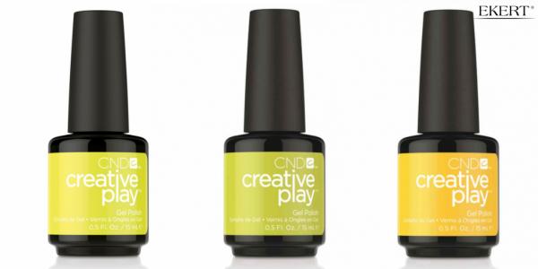 Zakochaj się w kolorach lata hybrydy żelowej Creative Play Gel!